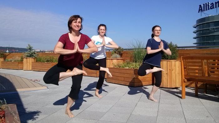 Lekce jógy v KPMG – rozhovor s jógínem